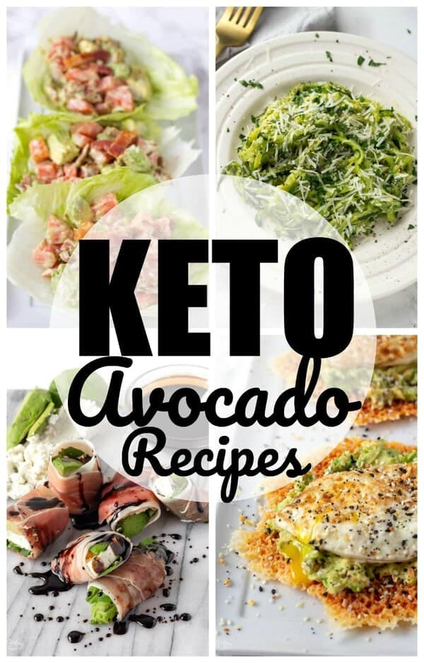 Keto Avocado Recipes