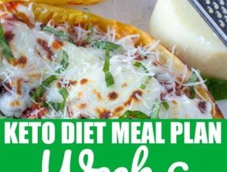 Keto Diet Meal Plan 6