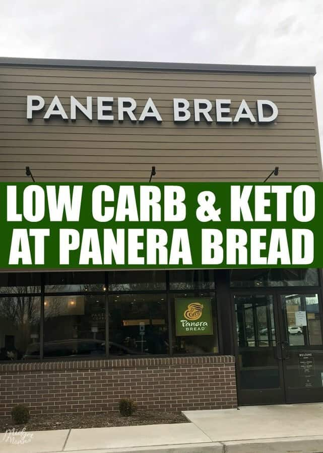 picture regarding Panera Bread Printable Menu titled Panera Bread Keto and Small Carb Menu Buying Direct MidgetMomma