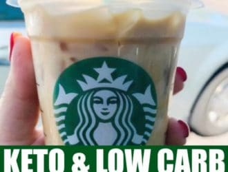 Low Carb and Keto Drinks at Starbucks