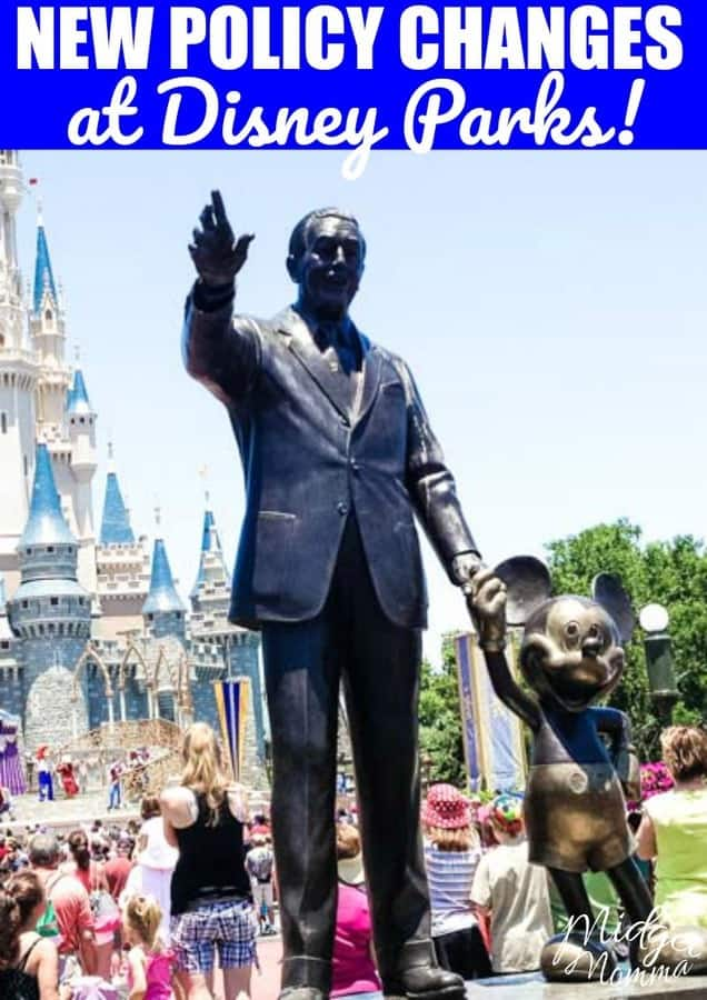 New Disney Parks Policy