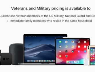 Apple online military store
