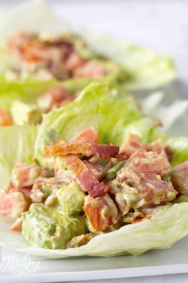 blt avocado lettuce wrap