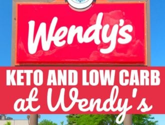 wendys keto and low carb