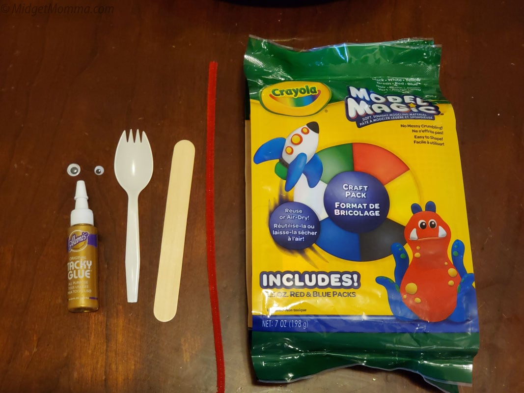 DIY Forky Supplies