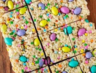 Easter M&M Rice Krispie Treats Recipe