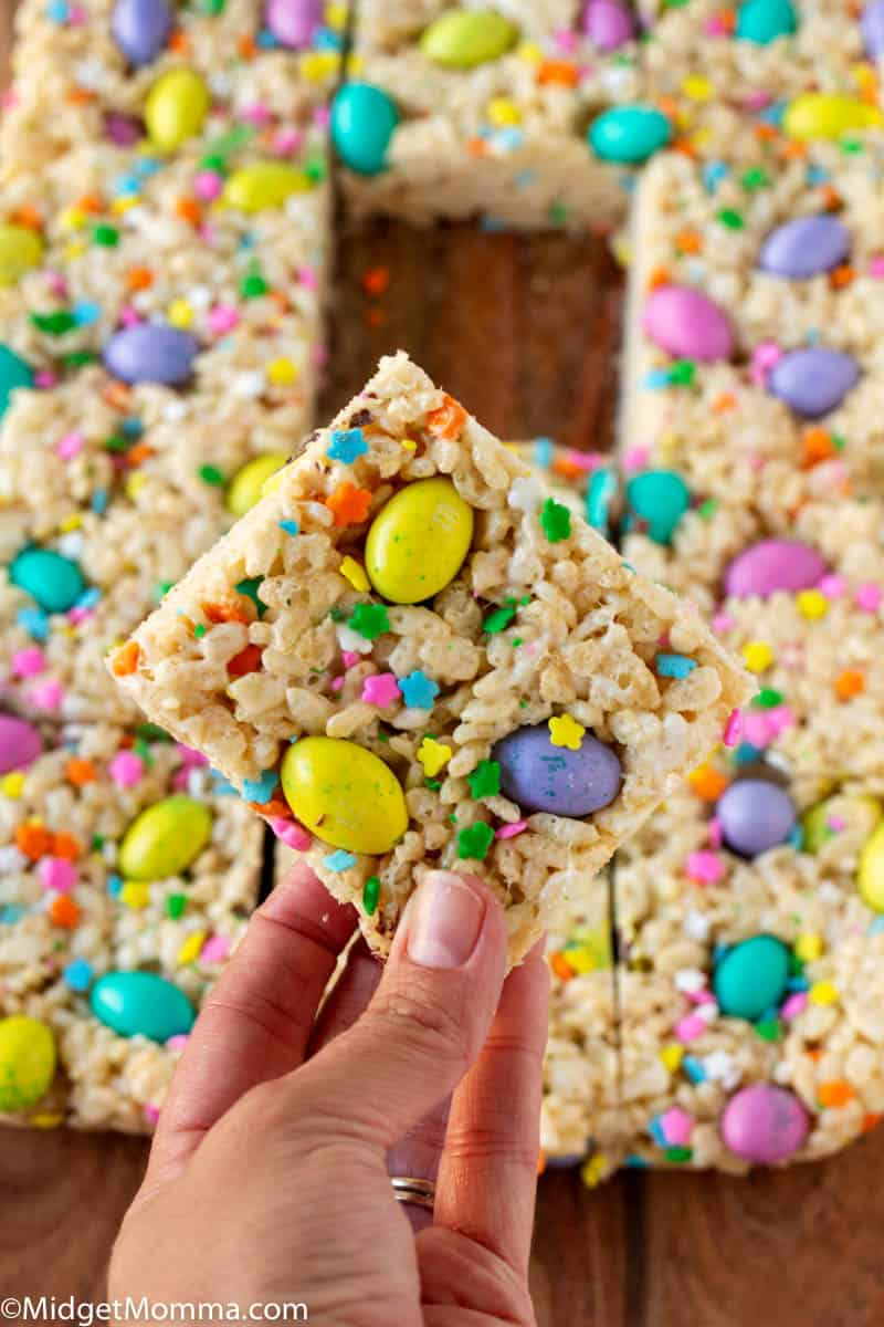 Easter M&M Rice Krispie Treats Recipe