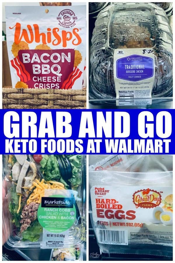 Grab and Go Keto Foods at Walmart