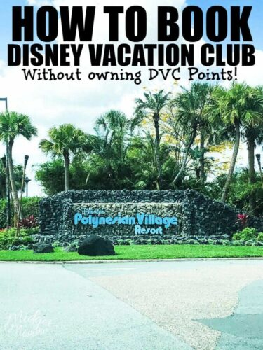 How to Book Disney Vacation Club