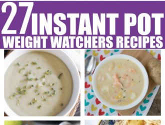 Instant pot weight watchers recipes