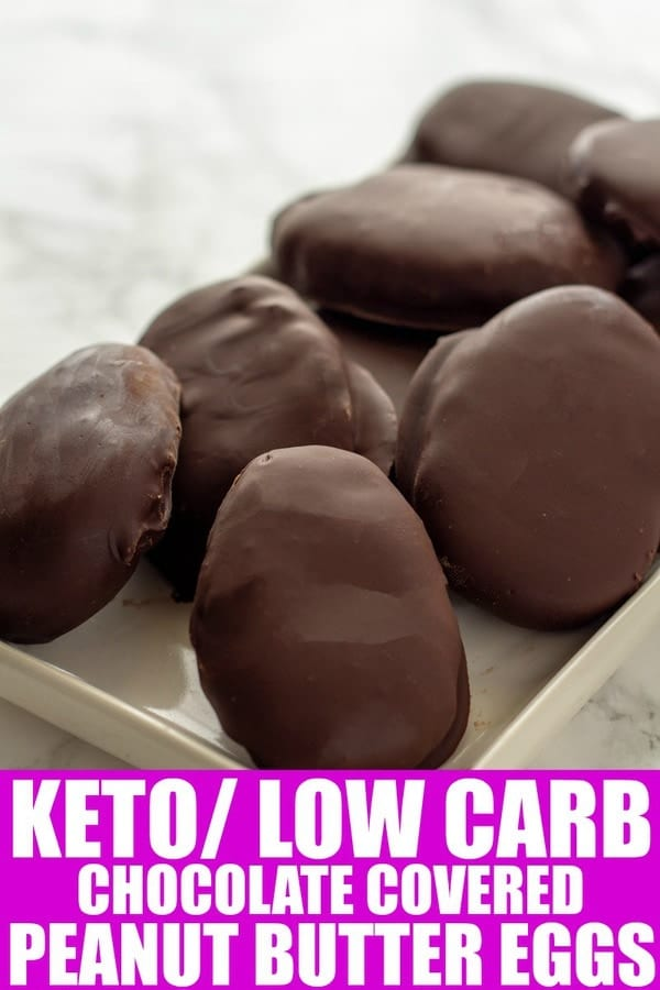 keto peanut butter eggs