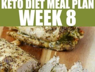 Keto Diet Meal Plan week 8