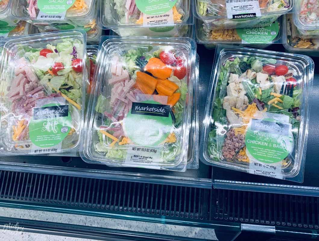 premade low carb salads at walmart