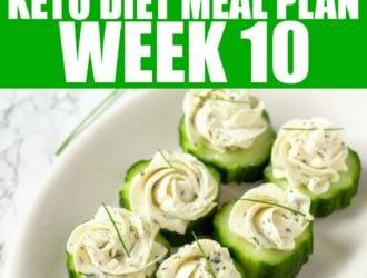 Week 10 Keto Diet Meal Plan
