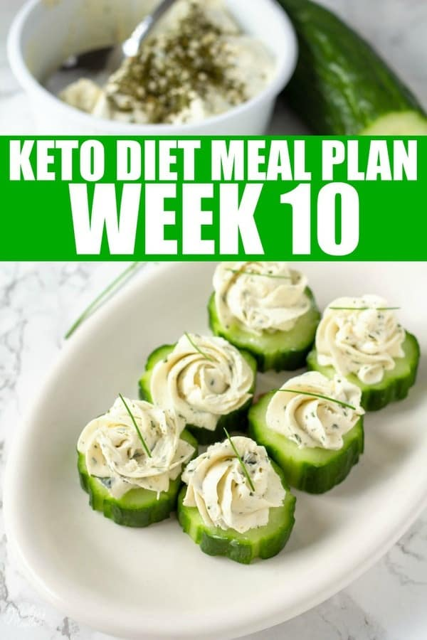 Week 10 Keto Diet Meal Plan