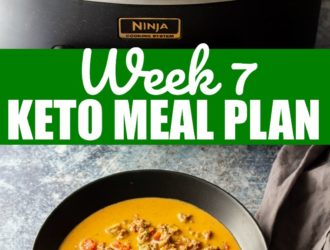 keto diet meal plan week 7