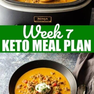 keto diet meal plan week 7