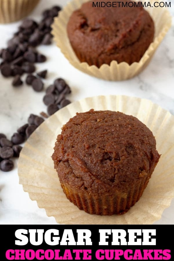 low carb sugar free chocolate cupcakes