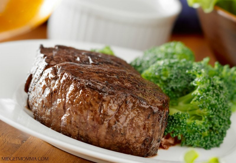 Keto Steak Dinner with Broccoli