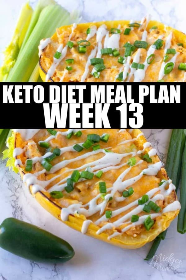week 13 keto diet meal plan