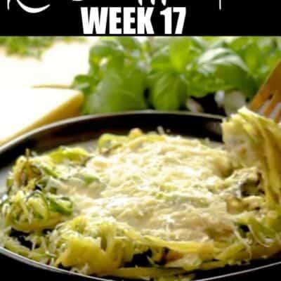 Easy Keto Diet meal plan week 17