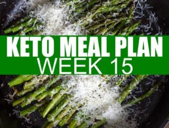 Keto Meal Plan week 15