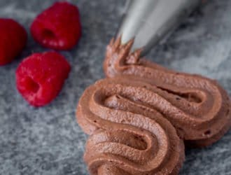 Chocolate Raspberry Buttercream
