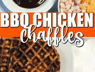 BBQ Chicken Chaffle Recipe
