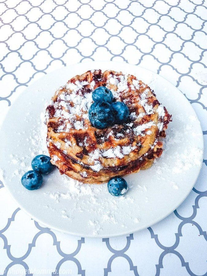 Keto Blueberry Chaffle Recipe