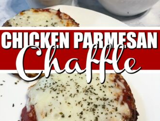 Chicken Parm Chaffle Recipe