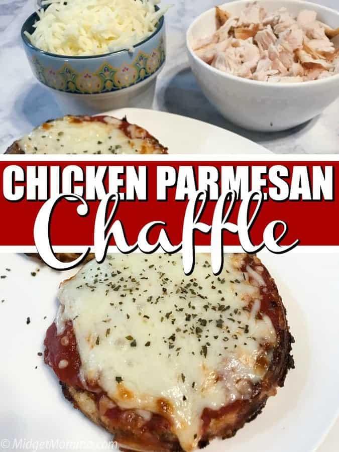 Chicken Parm Chaffle Recipe