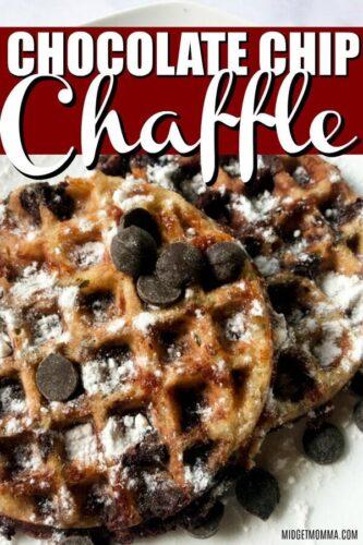 Chocolate Chip Chaffle