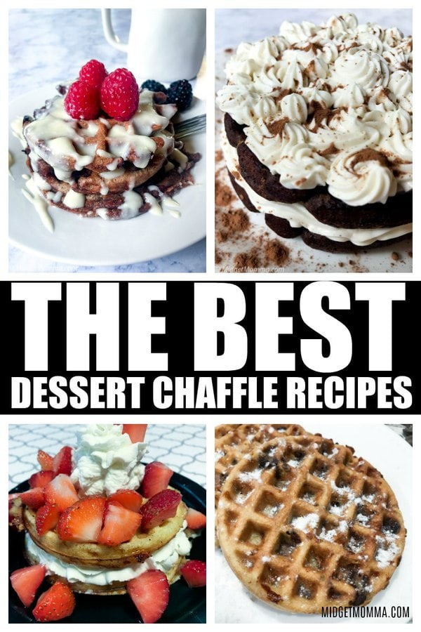 Dessert Chaffle Recipes