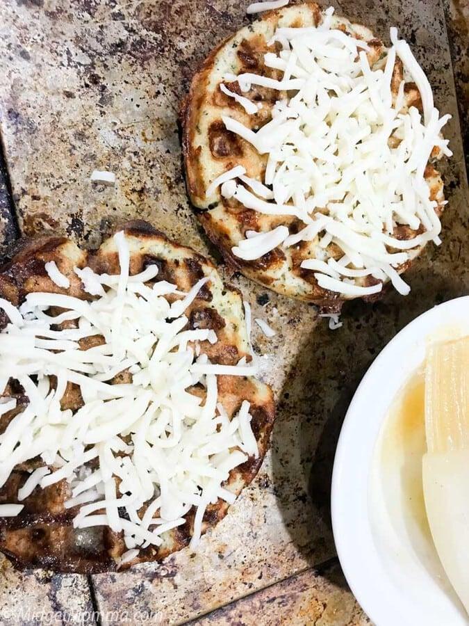 Garlic Bread Chaffle