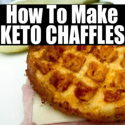 How to Make Keto Chaffles