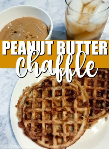 Peanut Butter Chaffle Recipe