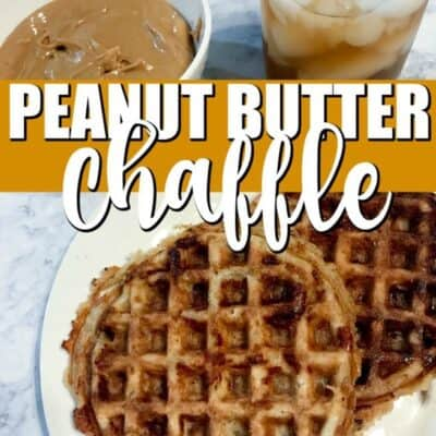 Peanut Butter Chaffle Recipe