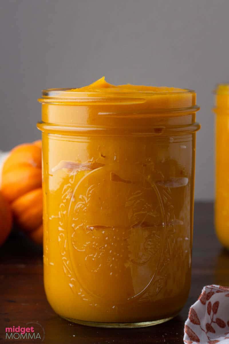 homemade pumpkin pure