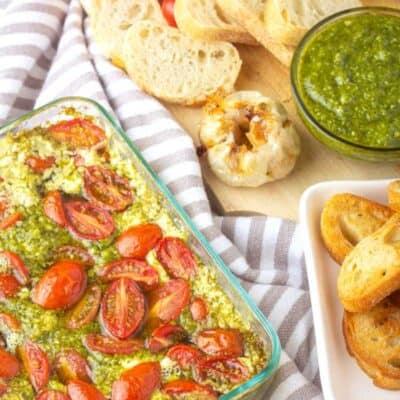 Pesto Dip Recipe