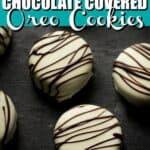 Homemade Chocolate Covered Oreo