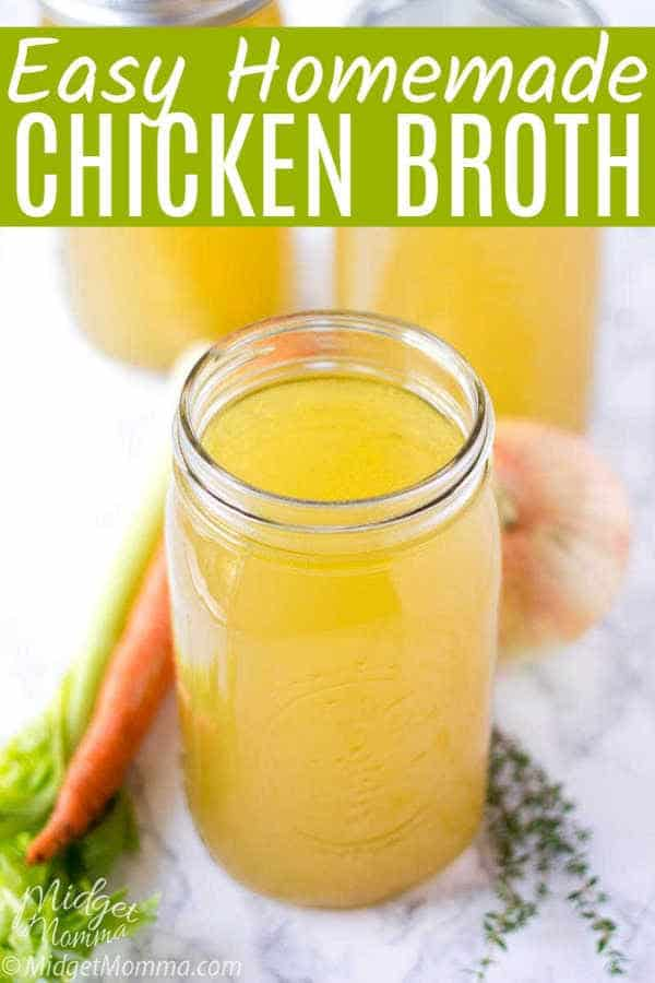 How to Make Homemade Chicken Broth Recipe.