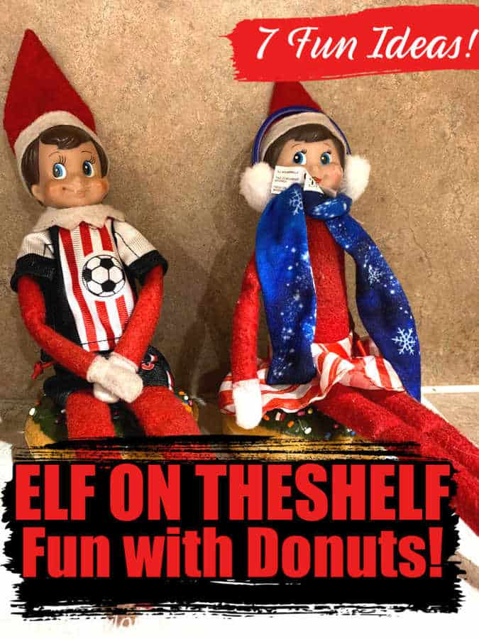 7 Fun Elf On The Shelf Ideas To Do With Donuts Midgetmomma