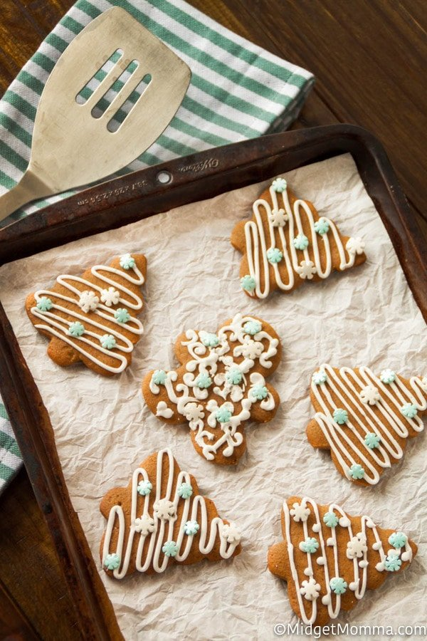 How to make gingerbread cookie frosting