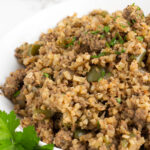 Keto Cauliflower Rice in a bowl