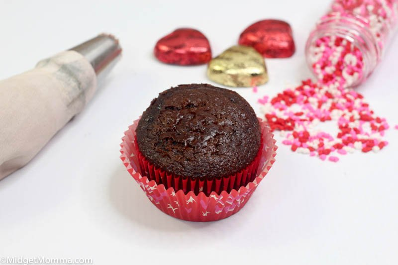 Chocolate Valentine's Day Cupcakes
