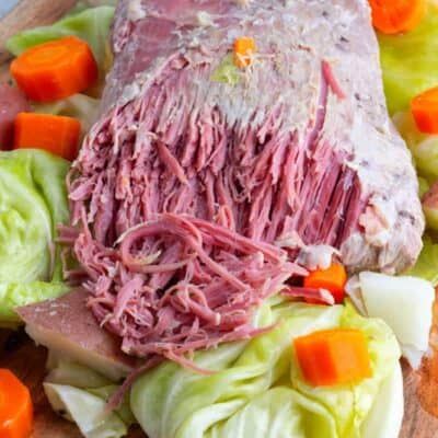 Crockpot Corned Beef and Cabbage