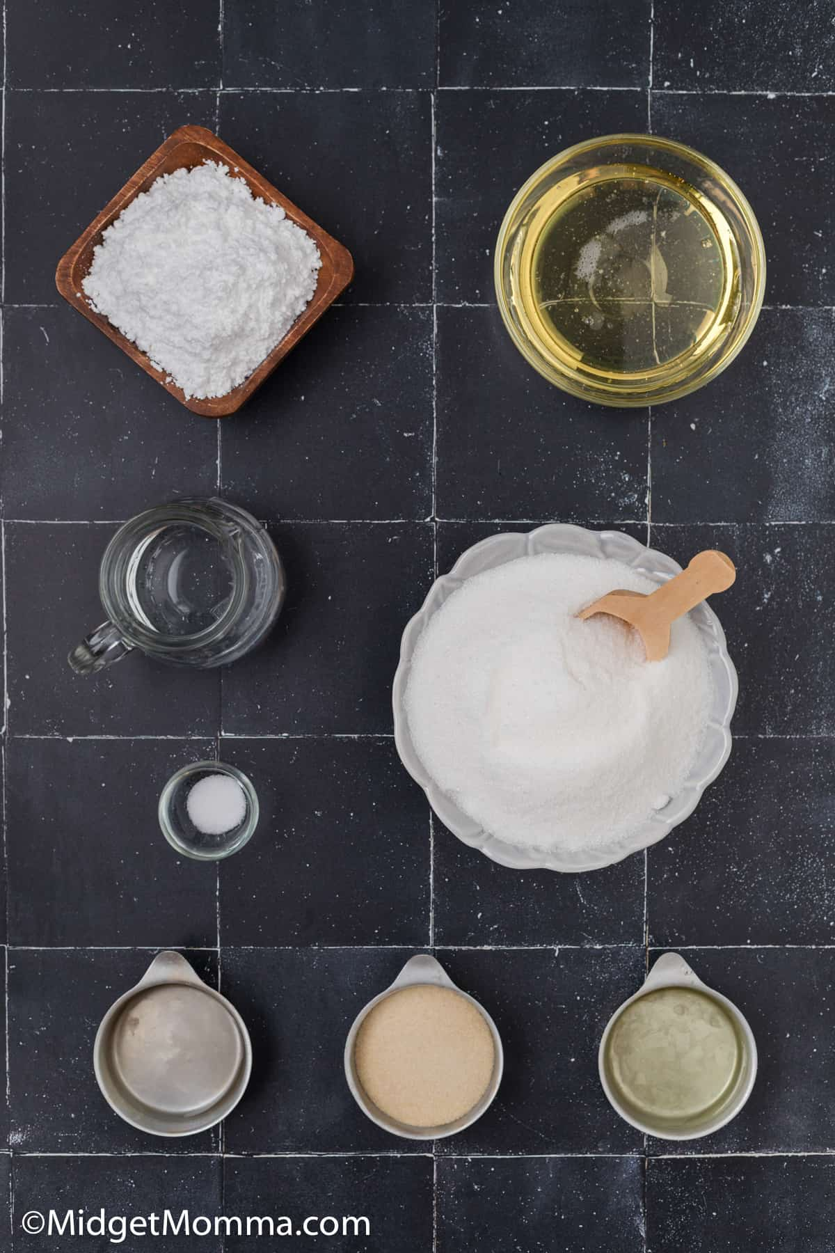 Homemade Marshmallows Recipe ingredients