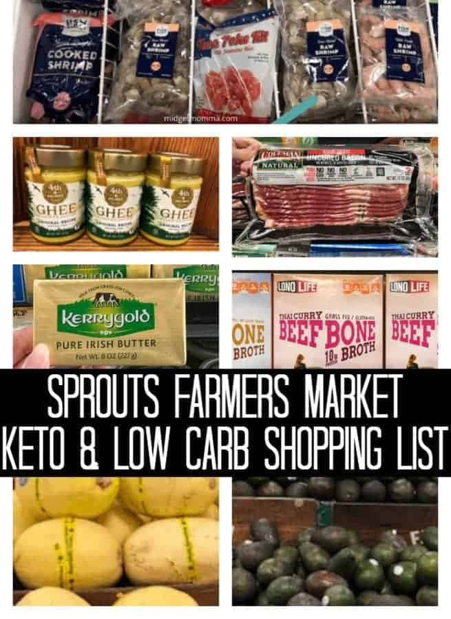 Sprouts Low Carb Amp Keto Shopping List Midgetmomma