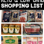 Low Carb Shopping List at Sprouts