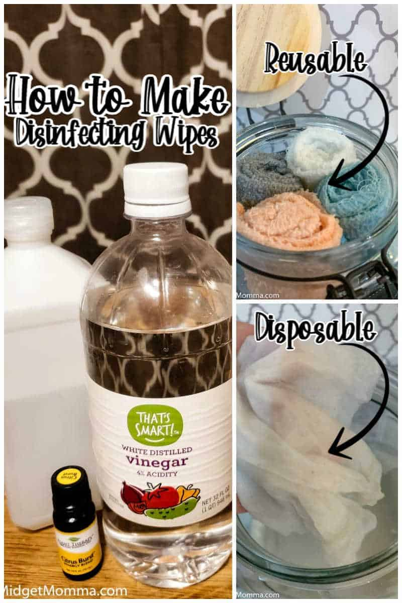 How to Make Disinfecting Wipes